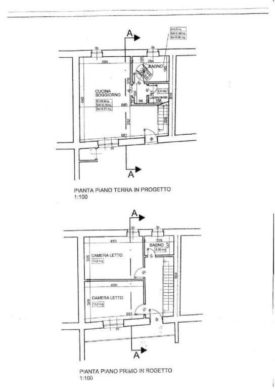 foto planimetria_000001 4-room flat via Roda 23, Racconigi