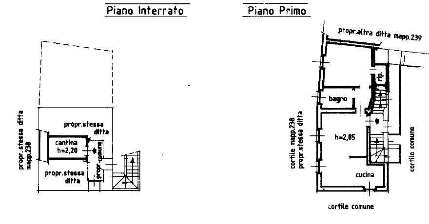 foto Planimetria Двухкомнатная квартира via ai Forni 15, Sulbiate