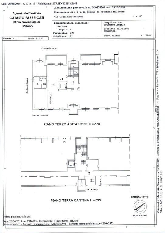 foto  3-room flat via Guglielmo Marconi 124, Pregnana Milanese
