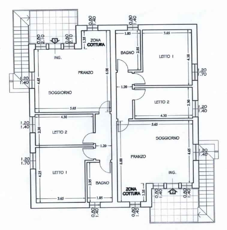 foto  3-room flat new, top floor, Oppeano