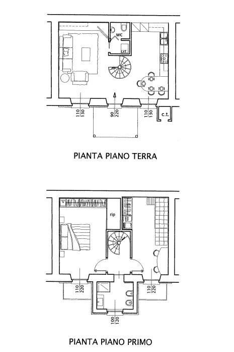 foto planimetria Casa indipendente Località Torricella, Calco