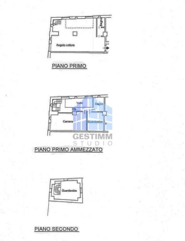 foto Planimetria Loft via Gerolamo Acerbis 8, Alzano Lombardo