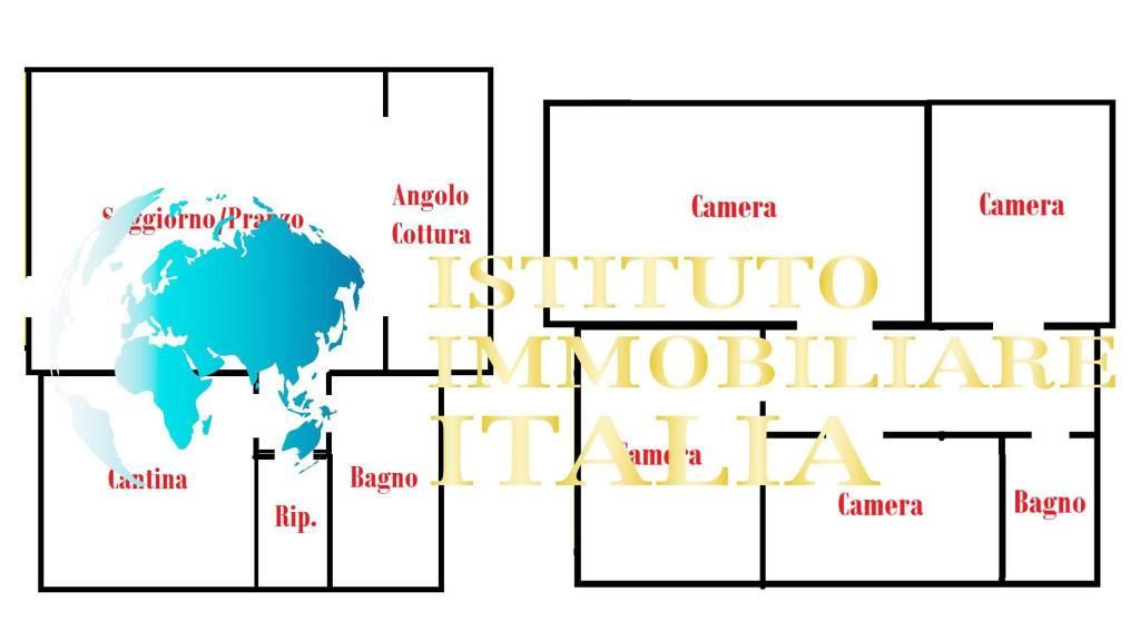 foto Planimetria Casa indipendente all'asta via Lumaca 22, Molinella