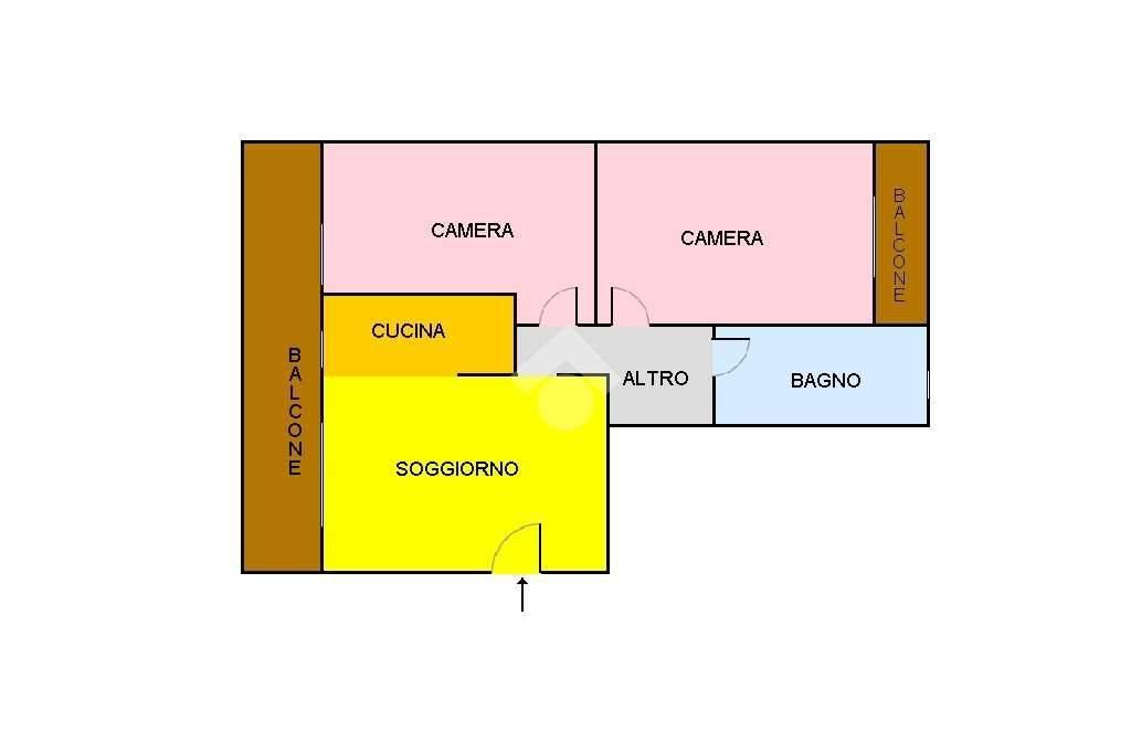 foto PLANIMETRIA 3-room flat via Cristoforo Colombo 4, Cornaredo