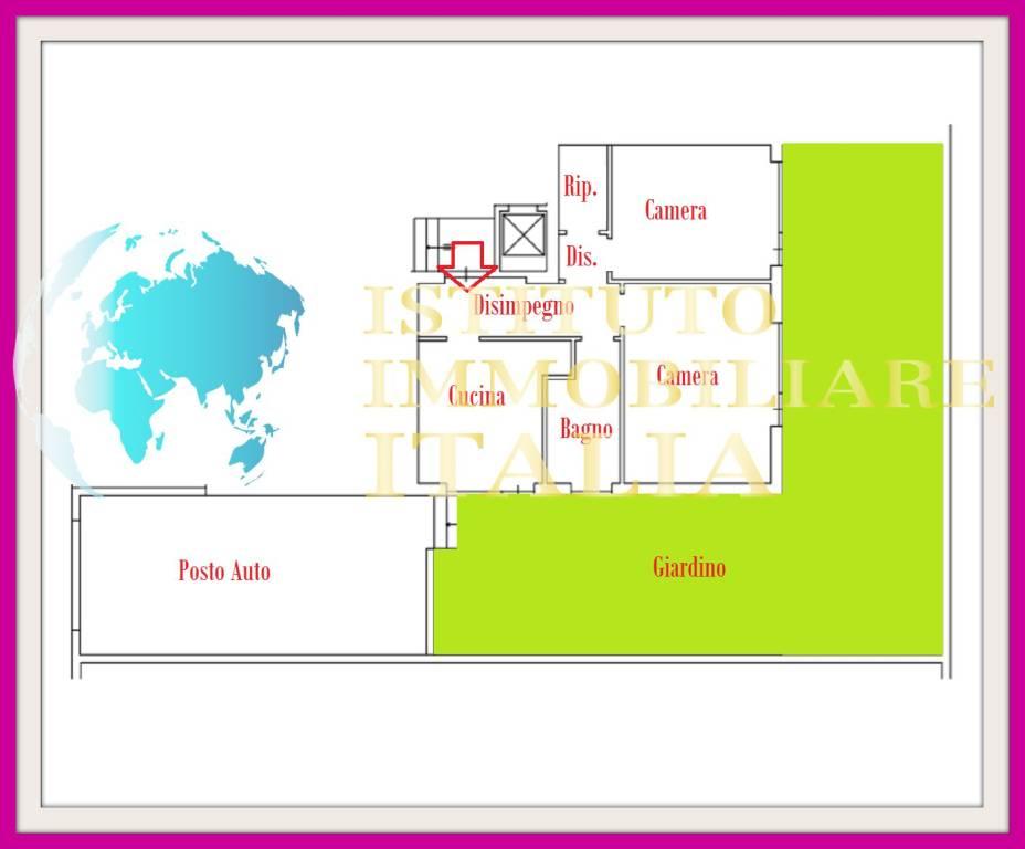 foto PLANIMETRIA Appartamento all'asta via Achille Grandi 31, Terracina