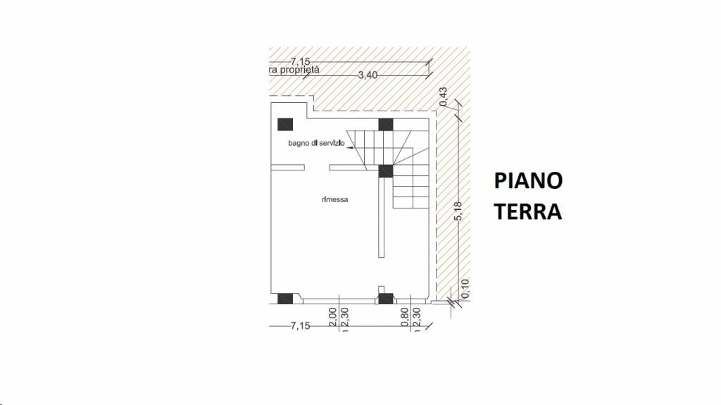 foto Piano Terra Casa indipendente via Giordano Bruno 226, Porto San Giorgio
