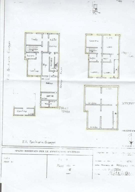 foto  Отдельный дом на несколько семей 274 m2, хорошее состояние, Gualtieri
