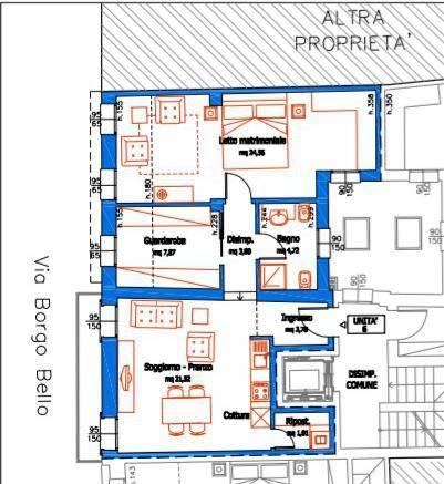 foto  2-room flat Borgo Bello 18, Legnago