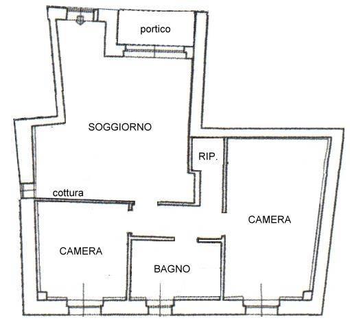 foto PLANIMETRIA 3-room flat new, ground floor, Truccazzano
