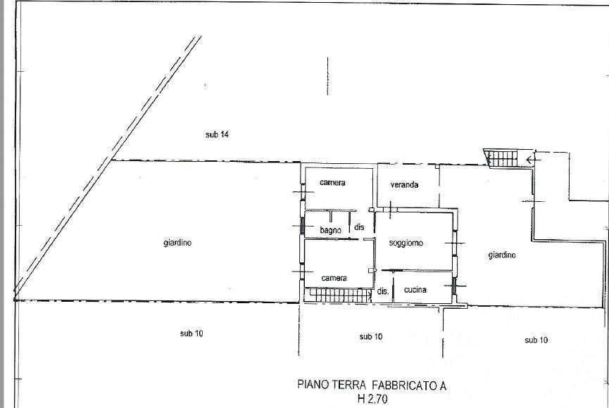 foto  Трехкомнатная квартира via Cardinal Ferrari, 8, Lambrugo