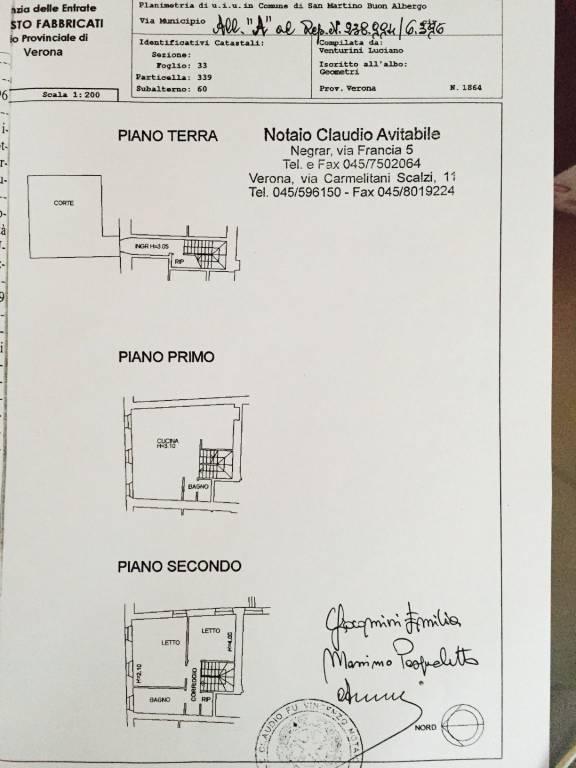 foto planimetria app. Country house colombare, 5, San Martino Buon Albergo