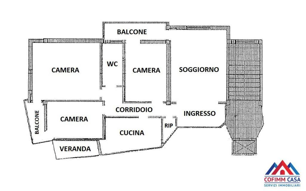 foto planimetria 4-room flat via Emilio Zincone, Sora
