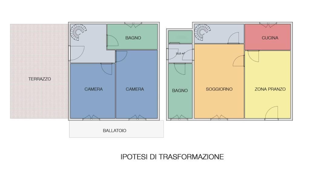 foto trasformazione 3-room flat via Camillo Benso di Cavour 2, Cornaredo