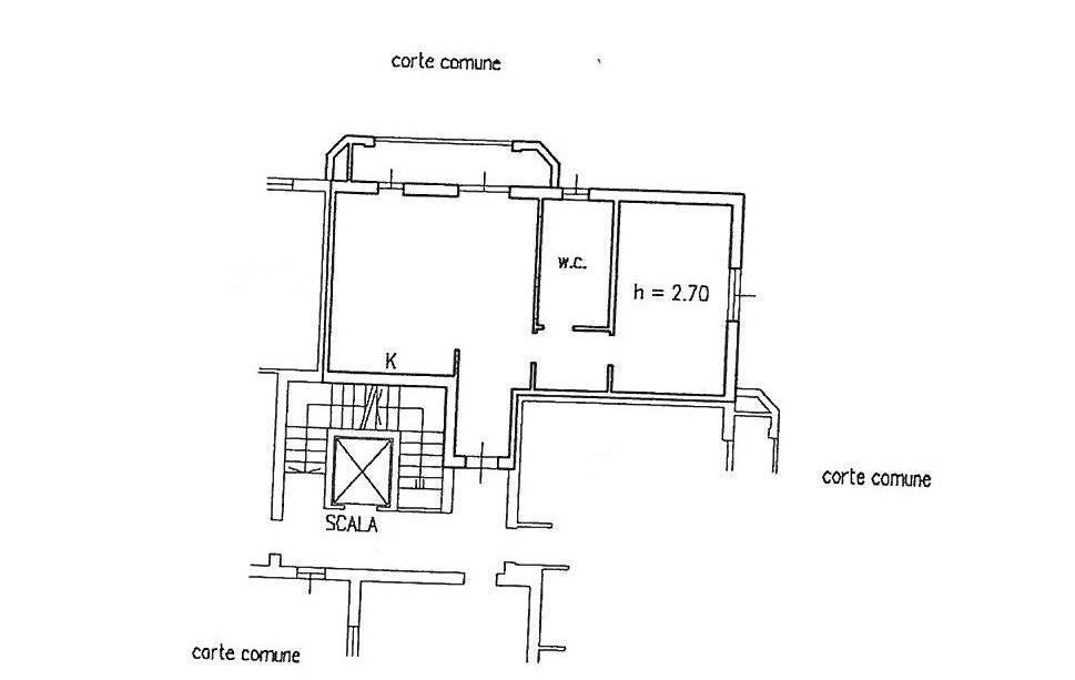 foto piantina 2-room flat via Genova, Settala