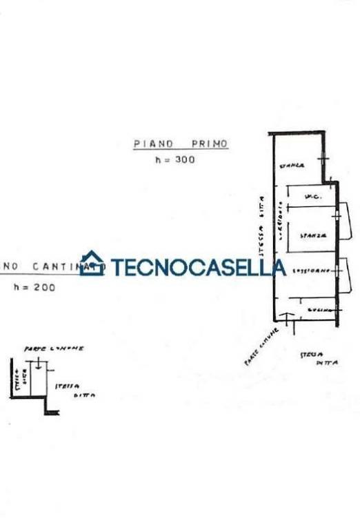 foto piantina 3-room flat via Manzoni, 1, Ossona
