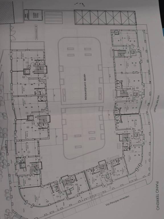 foto Planimetria Trilocale via delle Scuole, Pancalieri