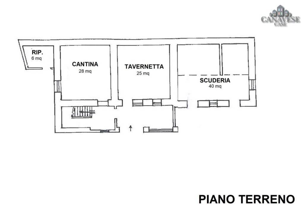 foto piantina Terratetto unifamiliare via Enzo Migliore 22, Lessolo