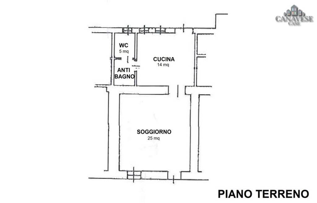 foto piantina 2-room flat via della Chiesa 23, Samone