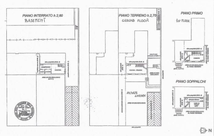 foto Plani 3-room flat via alla Castellana, Cernusco sul Naviglio