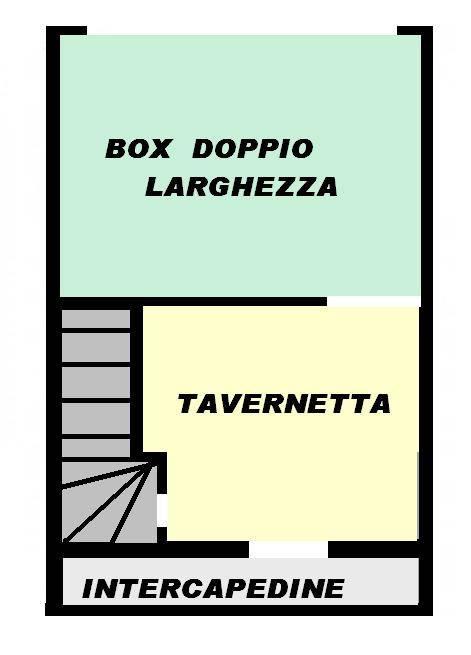 foto planimetria 4-room flat via della Libertà 2, Seriate