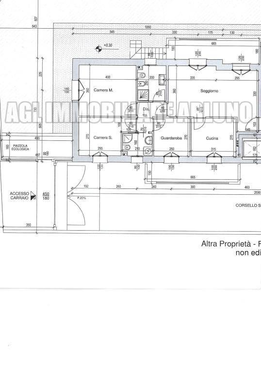 foto Planimetria appart. A 4-room flat via Piave, Cornaredo
