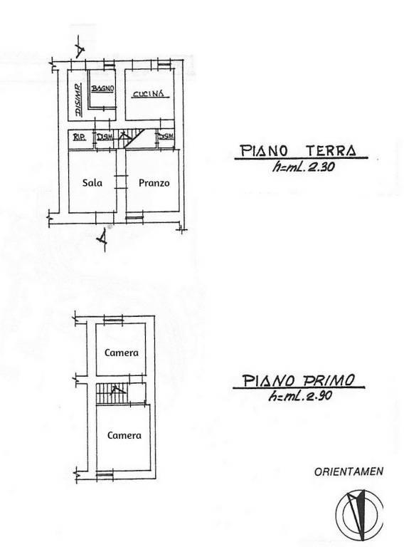 foto planimetria Detached house via Quaglieri Vecchio, Isola del Liri