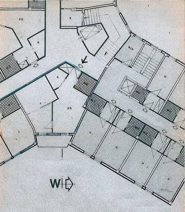 foto Planimetria Bilocale buono stato, terzo piano, Pietracamela