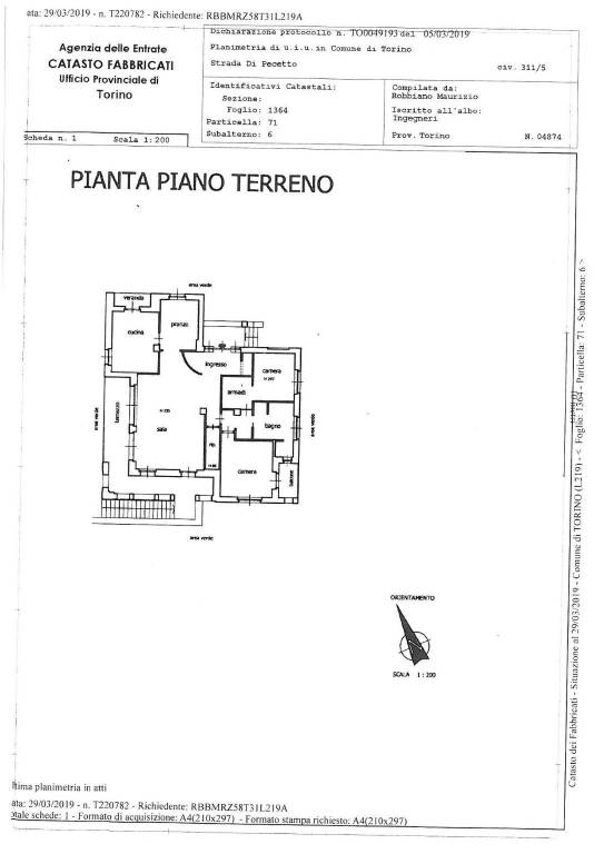 foto  Apartment Strada comunale di Pecetto, 311-5, Torino