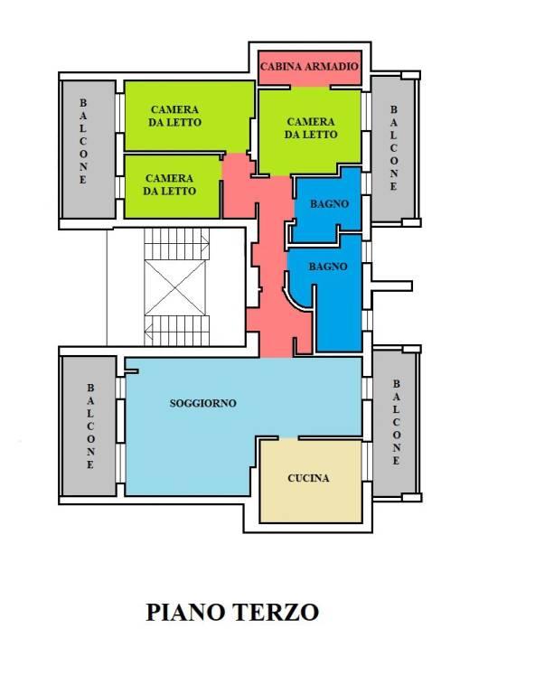 foto Appartamento Attico ottimo stato, 160 mq, Galliate