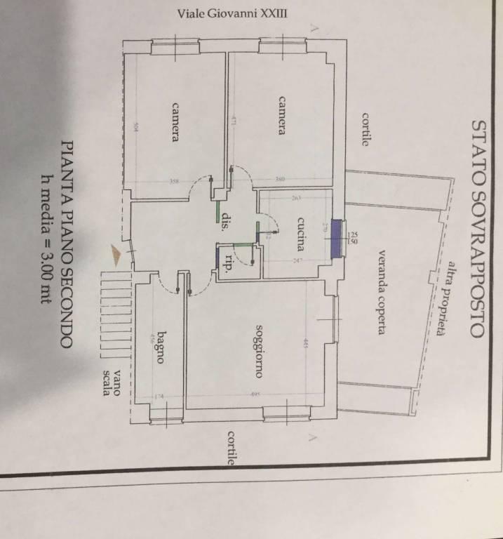 foto plan Quadrilocale viale PAPA GIOVANNI XXIII 25, Beinasco