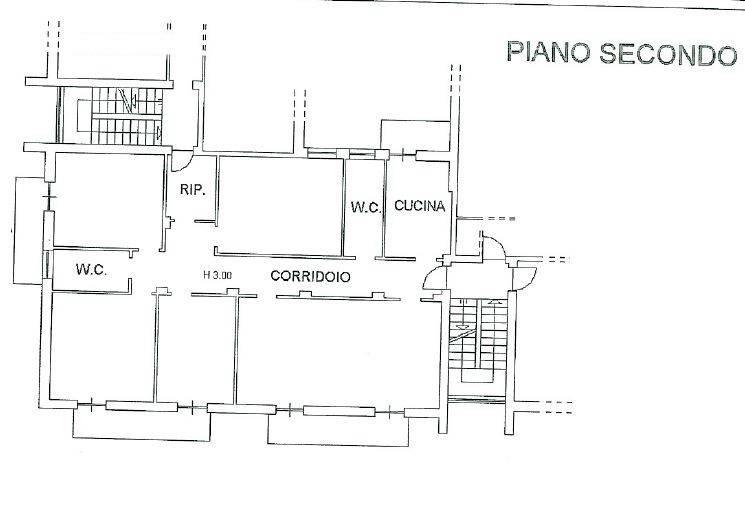foto planimetria Apartment via Cuneo, Mondovì