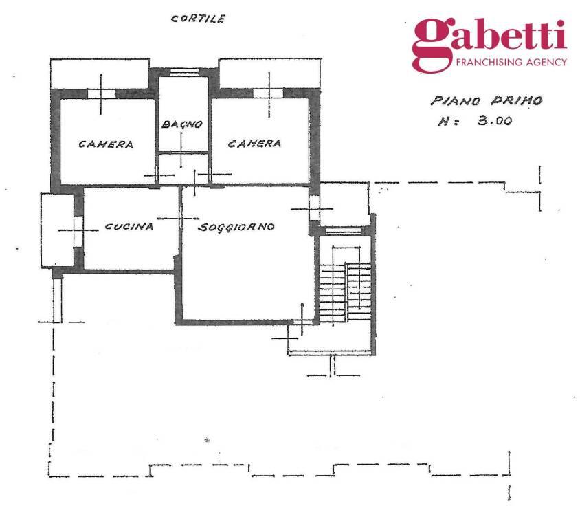foto PLANIMETRIA 4-room flat Strada Cinzano, Santa Vittoria d'Alba