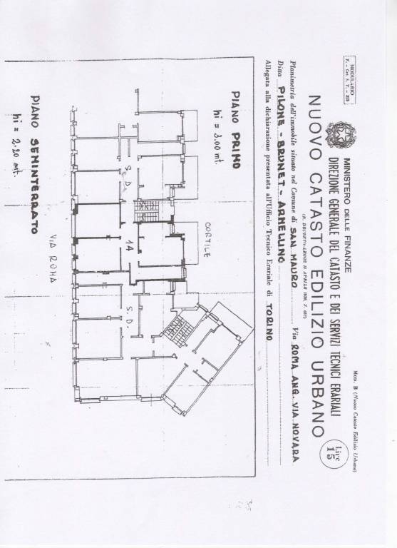 foto VIA-ROMA 3-room flat via Roma 52, San Mauro Torinese
