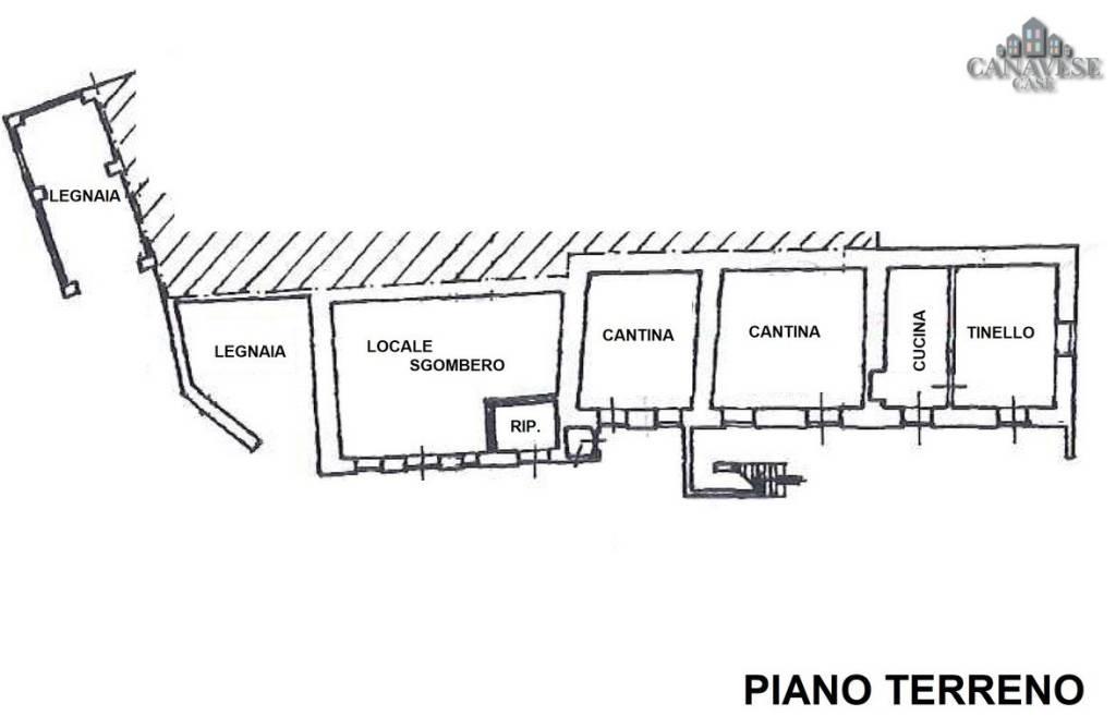 foto piantina Detached house via Adolfo Ghella 38, Colleretto Castelnuovo