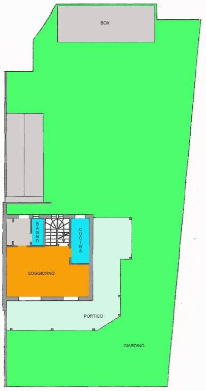 foto piano terra Terraced house 4 rooms, good condition, Treviglio