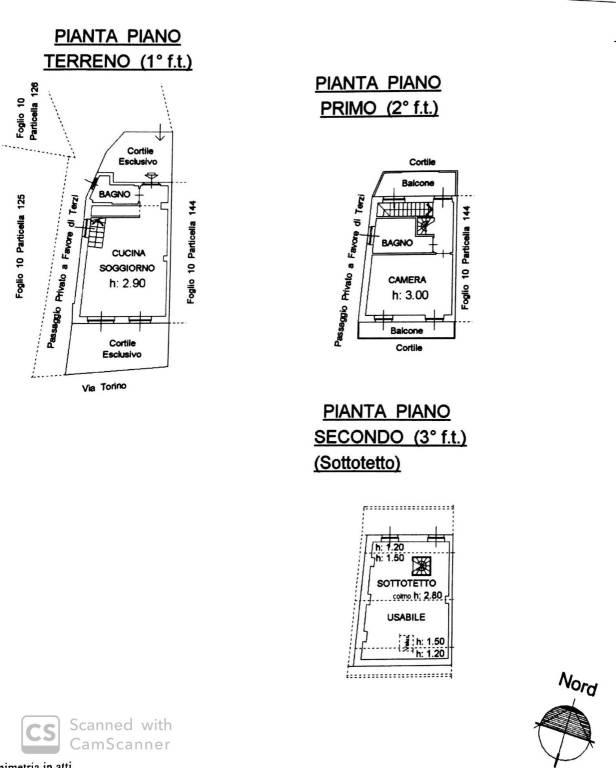 foto  Detached house via Torino, Brandizzo