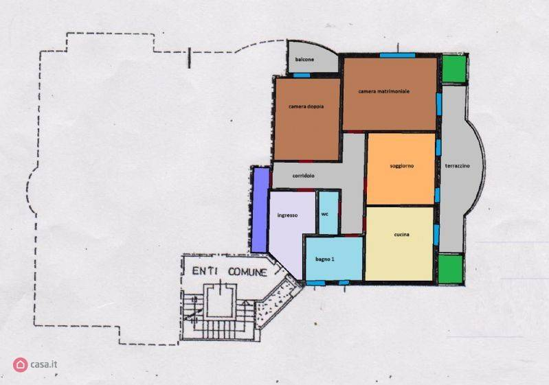 foto  3-room flat via Iv Novembre, Mariano Comense