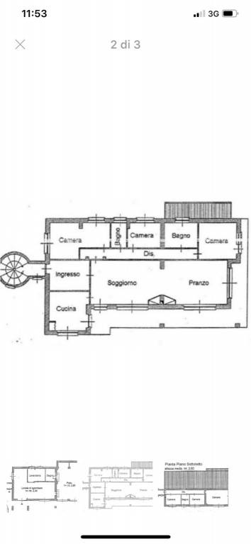 foto planimetria Single family villa via Trieste 3, Valfenera