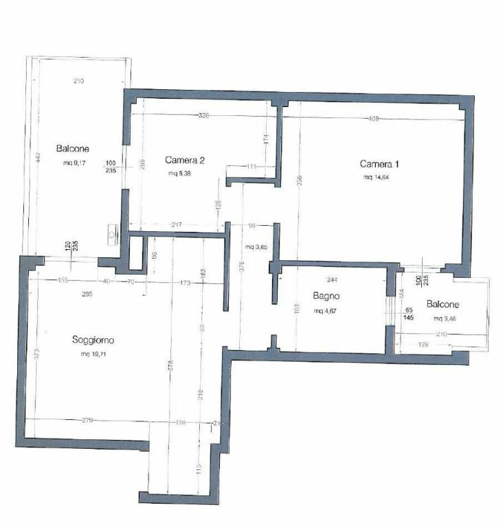 foto  3-room flat first floor, Liscate