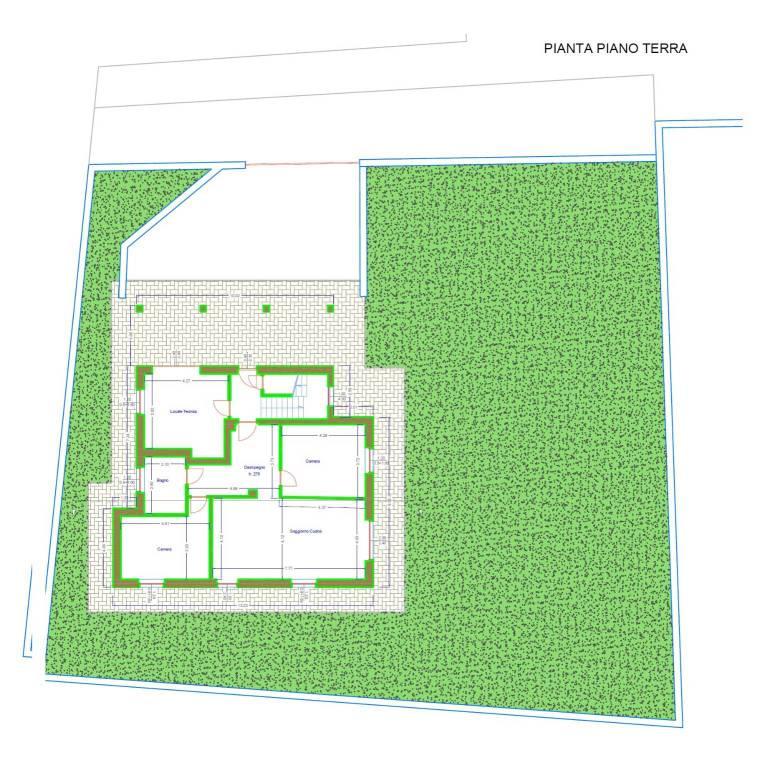 foto planimetria Two-family villa via Frabosa, Villanova Mondovì
