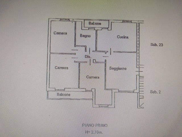 foto  Piso de cuatro habitaciones via Giacomo Leopardi, Antegnate