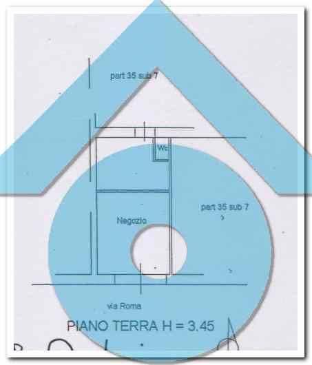 foto planimetria Terratetto unifamiliare via Roma 38, Sant'Egidio alla Vibrata
