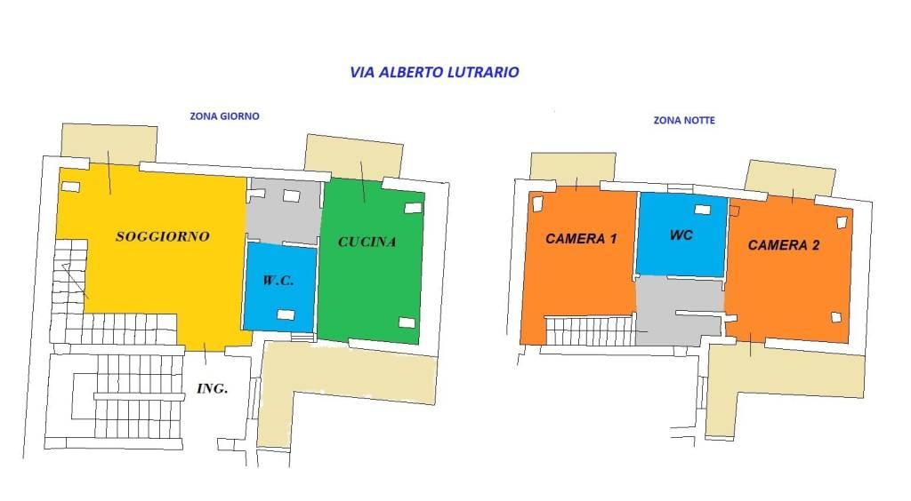 foto planimetria 3-room flat via A  Lutario 28, Crispano