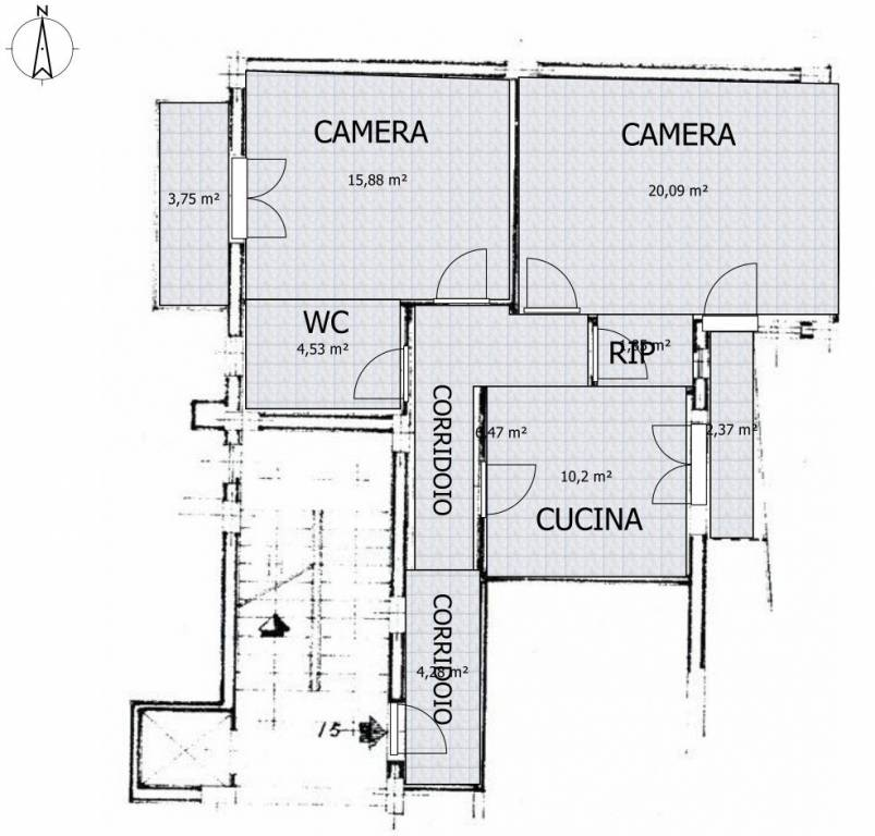 foto  Zweizimmerwohnung via San Francesco d'Assisi 26, Maddaloni