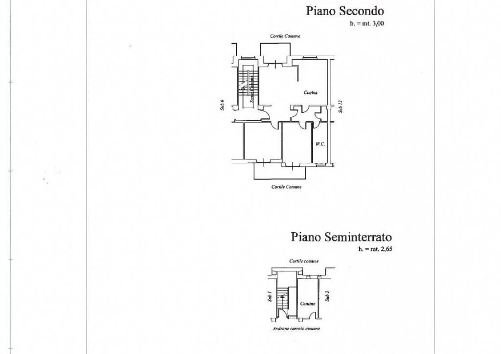 foto PLANIMETRIA 4-room flat via Vittorio Alfieri 6, Racconigi