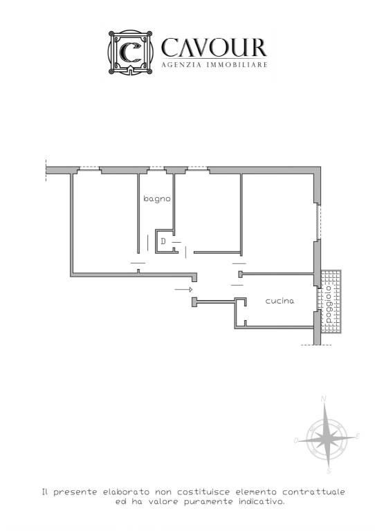 foto planimetria 4-room flat corso 25 Aprile, Cogorno