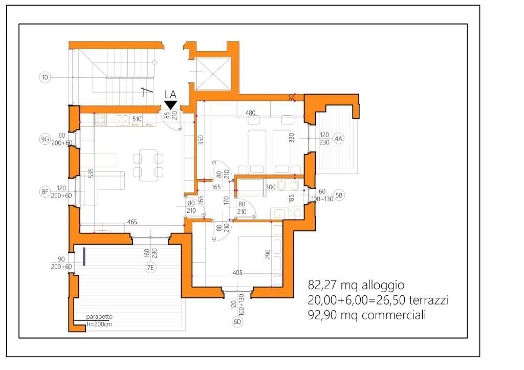 foto trilocale 3-room flat Strada Occhetti 3, Alba