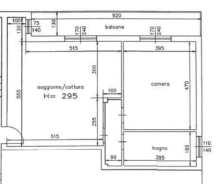 foto  2-room flat via Monza 15, Senago