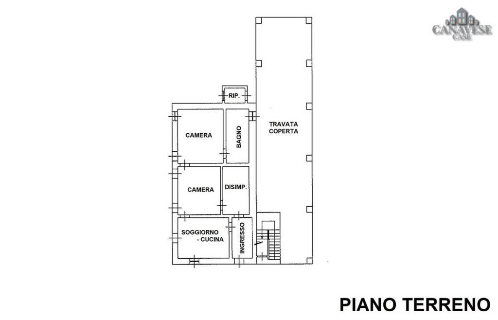 foto piantina Detached house frazione Sant'Antonio 132-4, Castellamonte