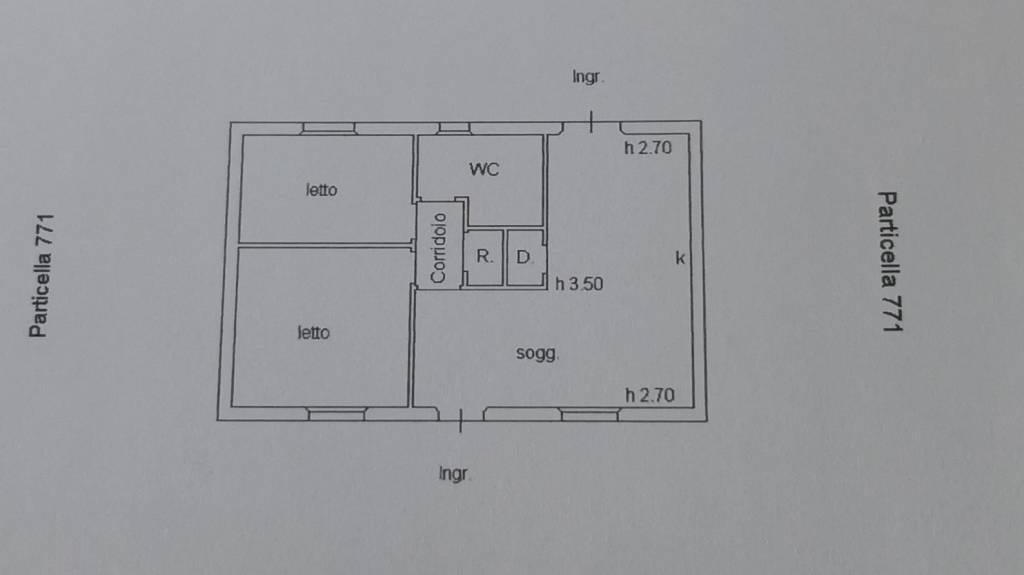 foto Planimetria Μονοκατοικία βίλα loc sanalvò, snc, Loiri Porto San Paolo